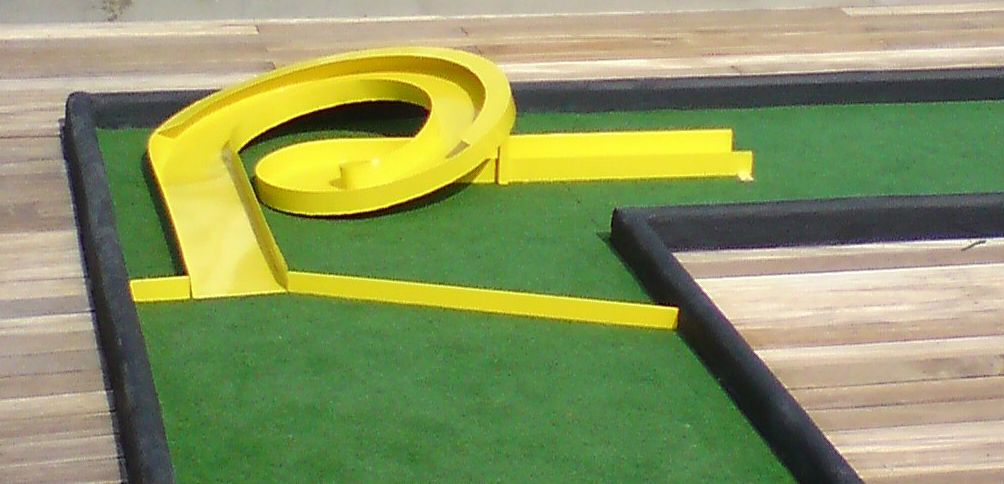 We Can Make Custom Mini Golf And Putt Putt Obstacles For You After The Purchase Of The Obstacles You Choos Miniature Golf Course Miniature Golf Putt Putt Golf