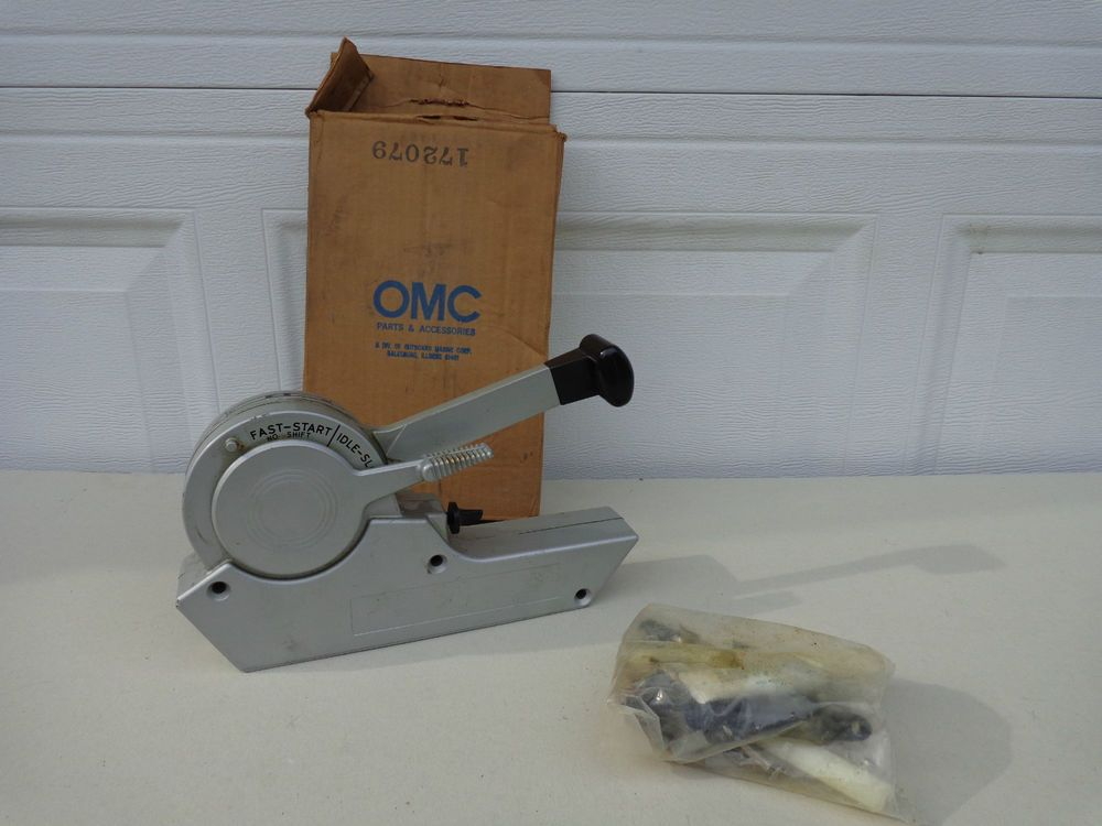 Nos OMC Remote Control Box In OG Box With Hardware Johnson