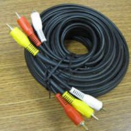 Cable Audio Video 25 Red Yellow White Red Yellow Yellow White Electrical Cables