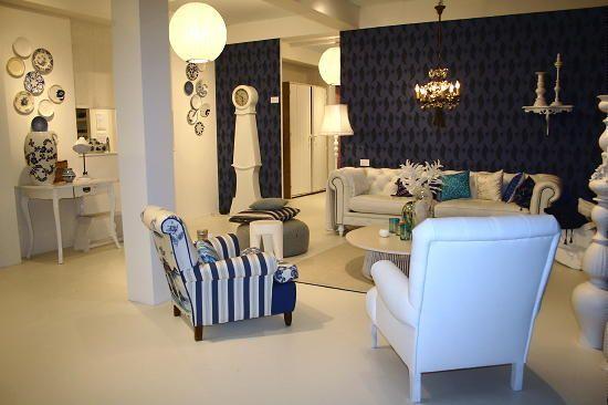 Delft Blue Interior Decoration of Dutch Magazine Ariadne at Home ...