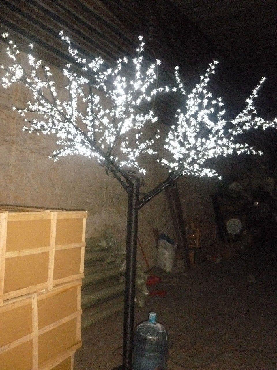 Free Ship 1000 Leds 6 5ft 2m Height Cherry Blossom Tree Light Christmas Party Holiday Wedding Light Tree Ou Holiday Lights Wedding Lights Cherry Blossom Tree