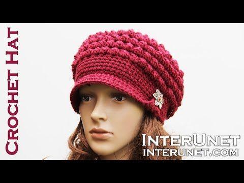 Sombrero de ganchillo Tutorial para Begginners | Patrones de ...