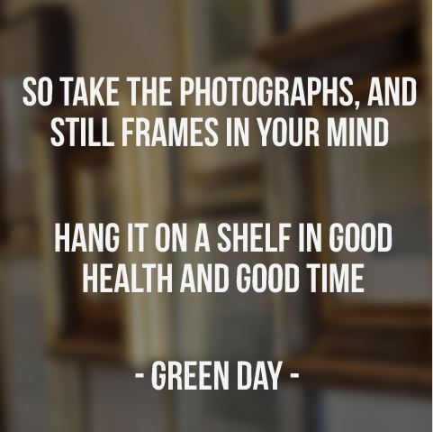 Good Riddance by Green Day
