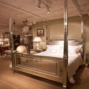Goddess Mirrored Post Bed From The Mirrored Bed Company Home Bedroom Luxury Home Decor Gorgeous Bedrooms