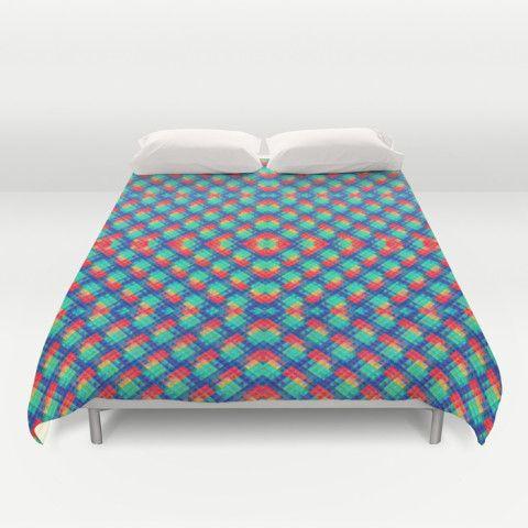 #society6 #duvet-cover #bedding #home #dorm #decor #style #britebricks #pattern #geometric #decorative #gift #petergross