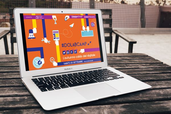 L'autunno caldo del digitale_DoLab on Behance - design by Emanuela Caponera