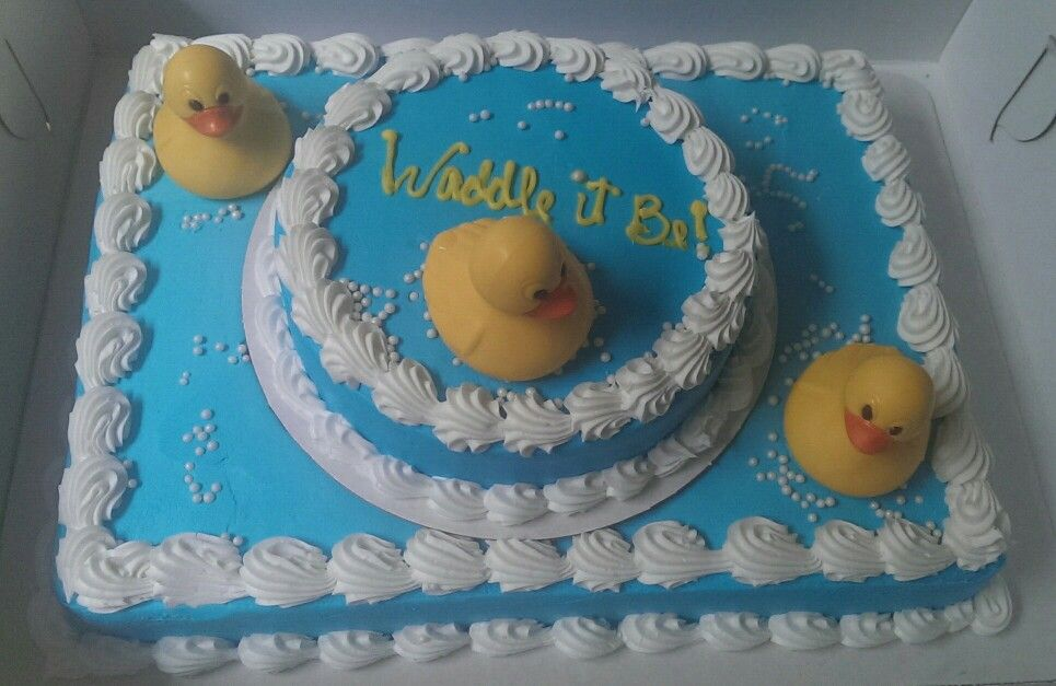 Albertsons Cake Ordered As Frosted Only With Blue White 1 2 Sheet
