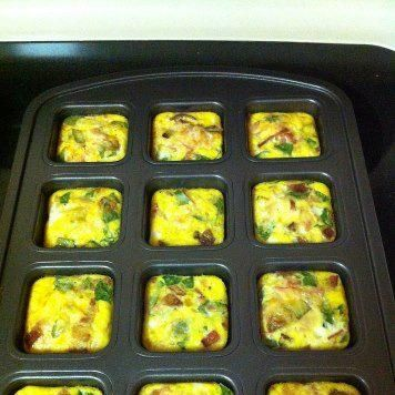 This Pampered Chef Brownie Pan Makes Great Breakfast For