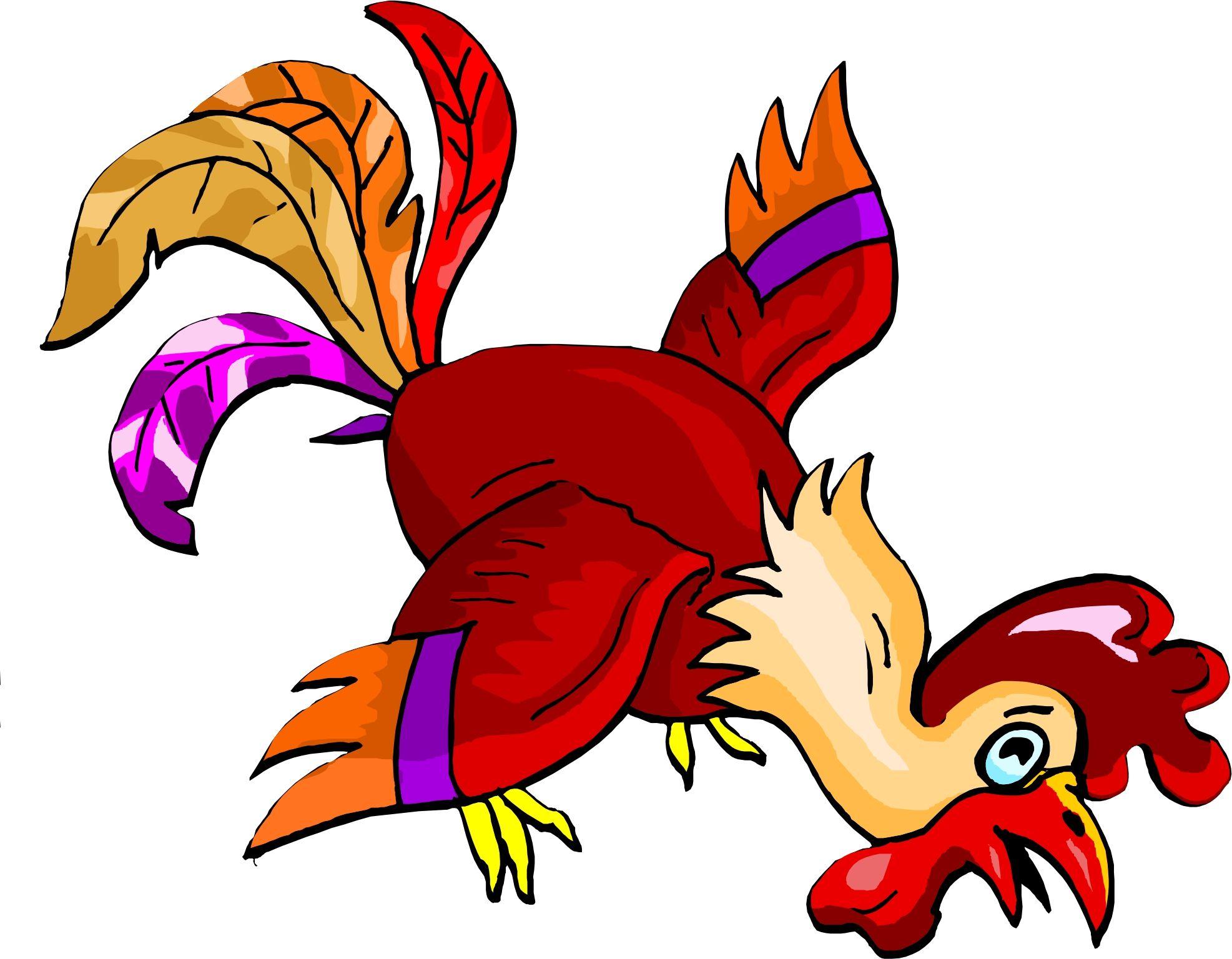 Funky Chicken Clip Art | Back Cartoon Clipart From | Chicken Art ...