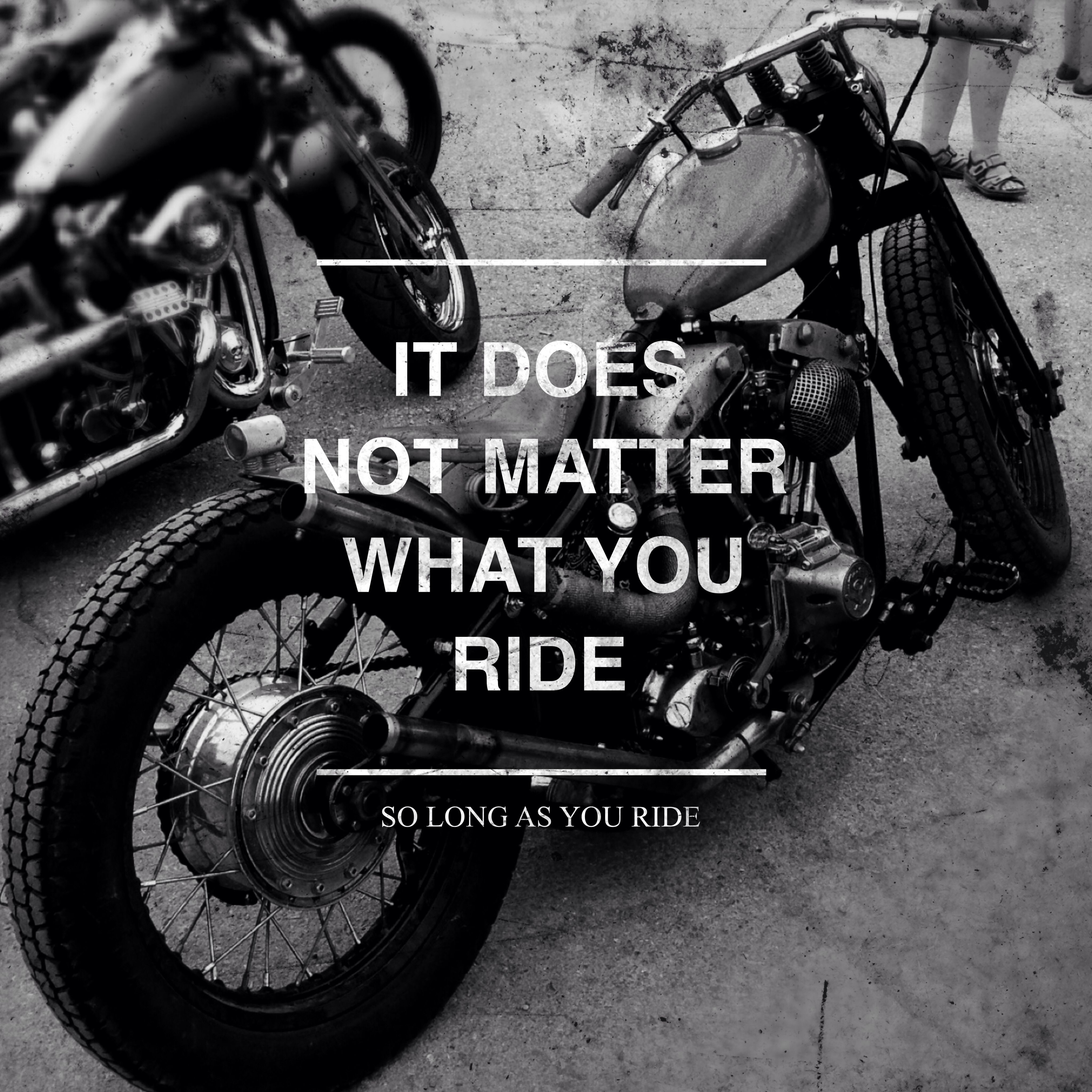 we write and ride