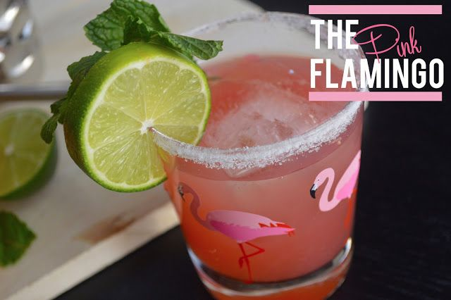 The Pink Flamingo Cocktail