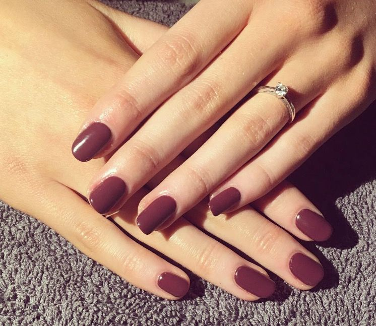 Gelish \'a little naughty\' | Nails by Kate | Pinterest | Gelish ...