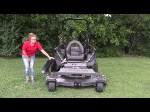 Spartan SRT-HD 61″ Zero Turn Mower 32 HP Vanguard Review