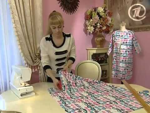 Быстро шить платье видео
