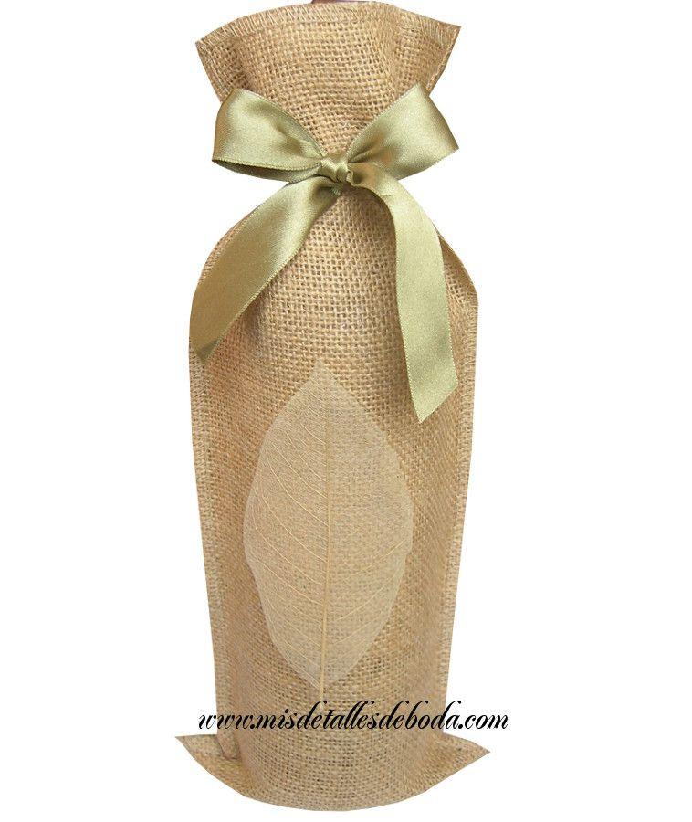 bolsas para botellas de vino pequeñas bolsas de yute para botellas de vino  bolsas vino baratas 84f9e51aed7