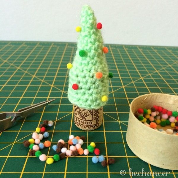 #crochet Christmas tree