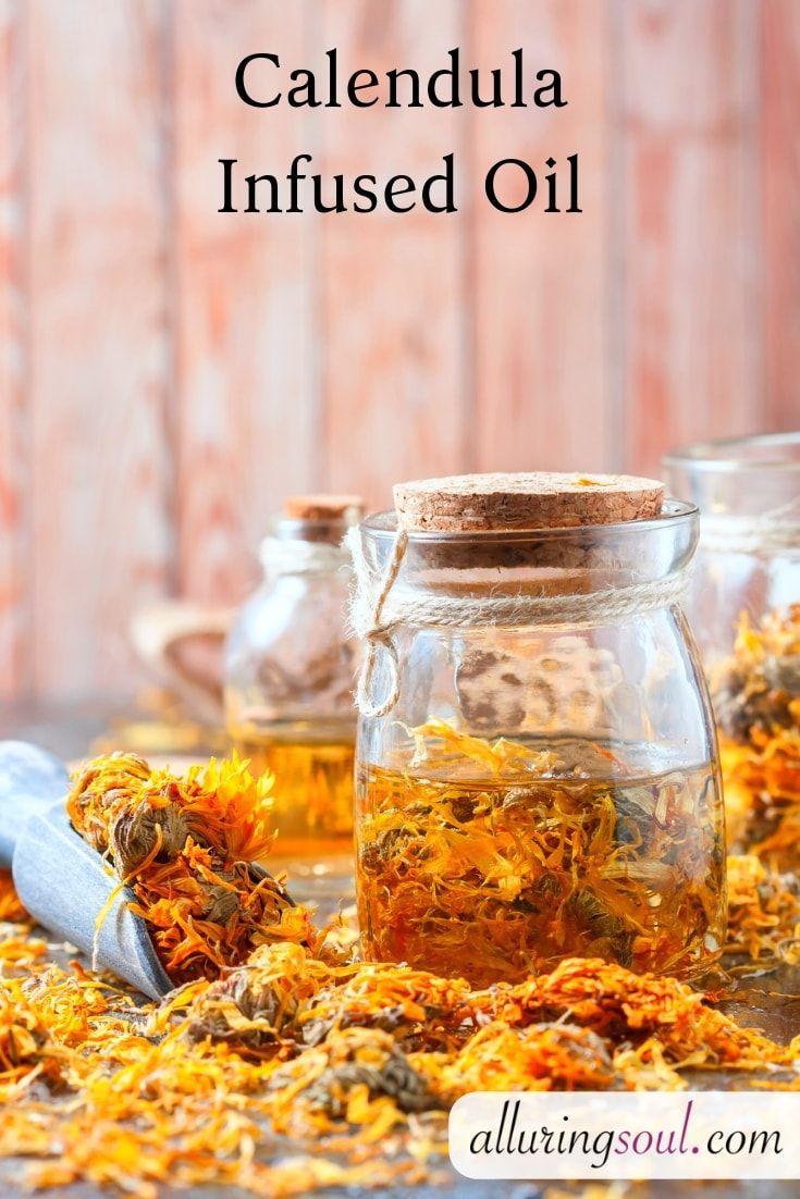 Diy skin repairing calendula face cream recipe oil for