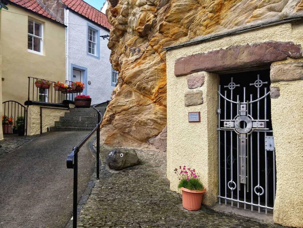 St Fillans Cave, Pittenweem, Fife