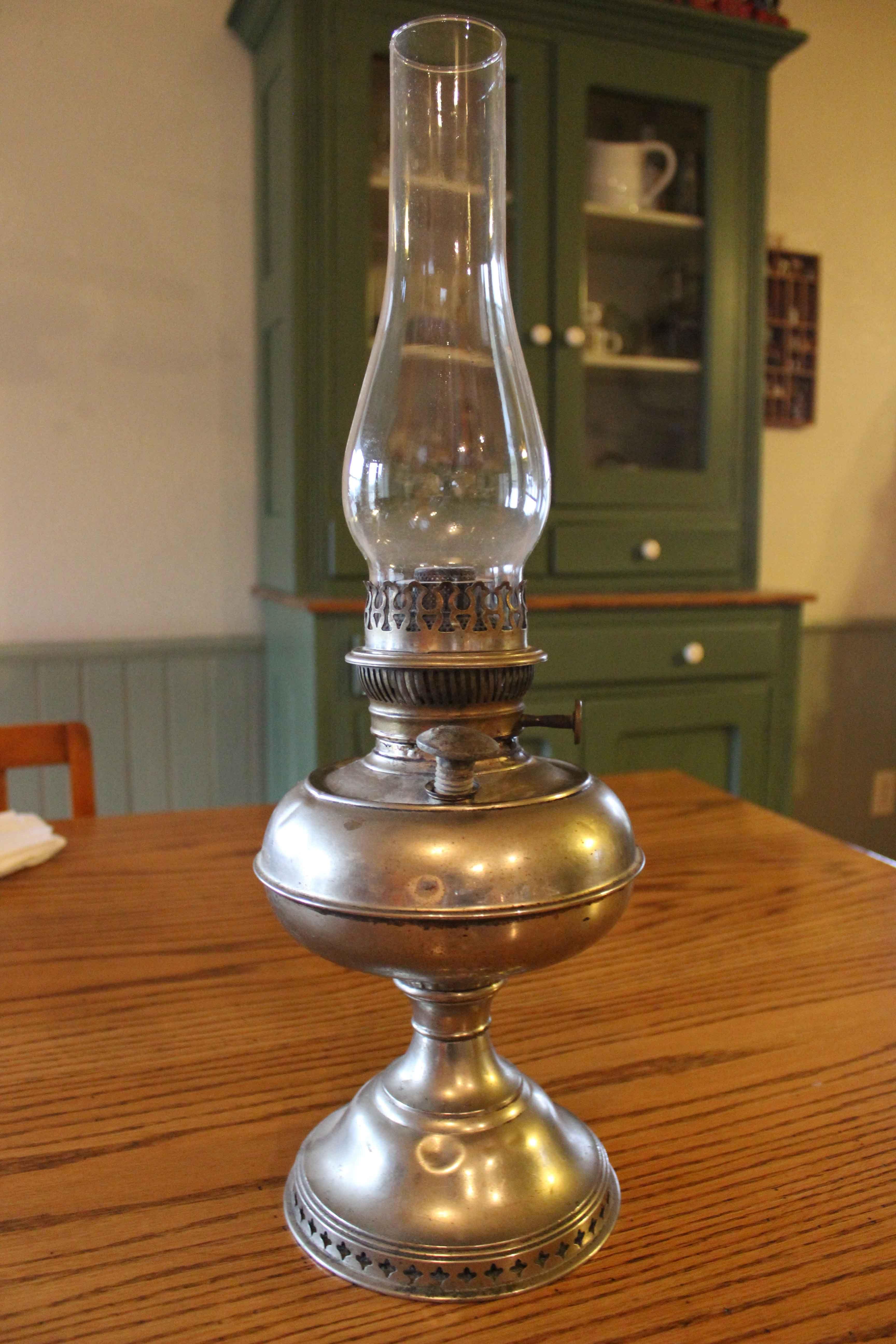 Oil Lamp Circular Wick Center Draft In 2019 Oil Lamps