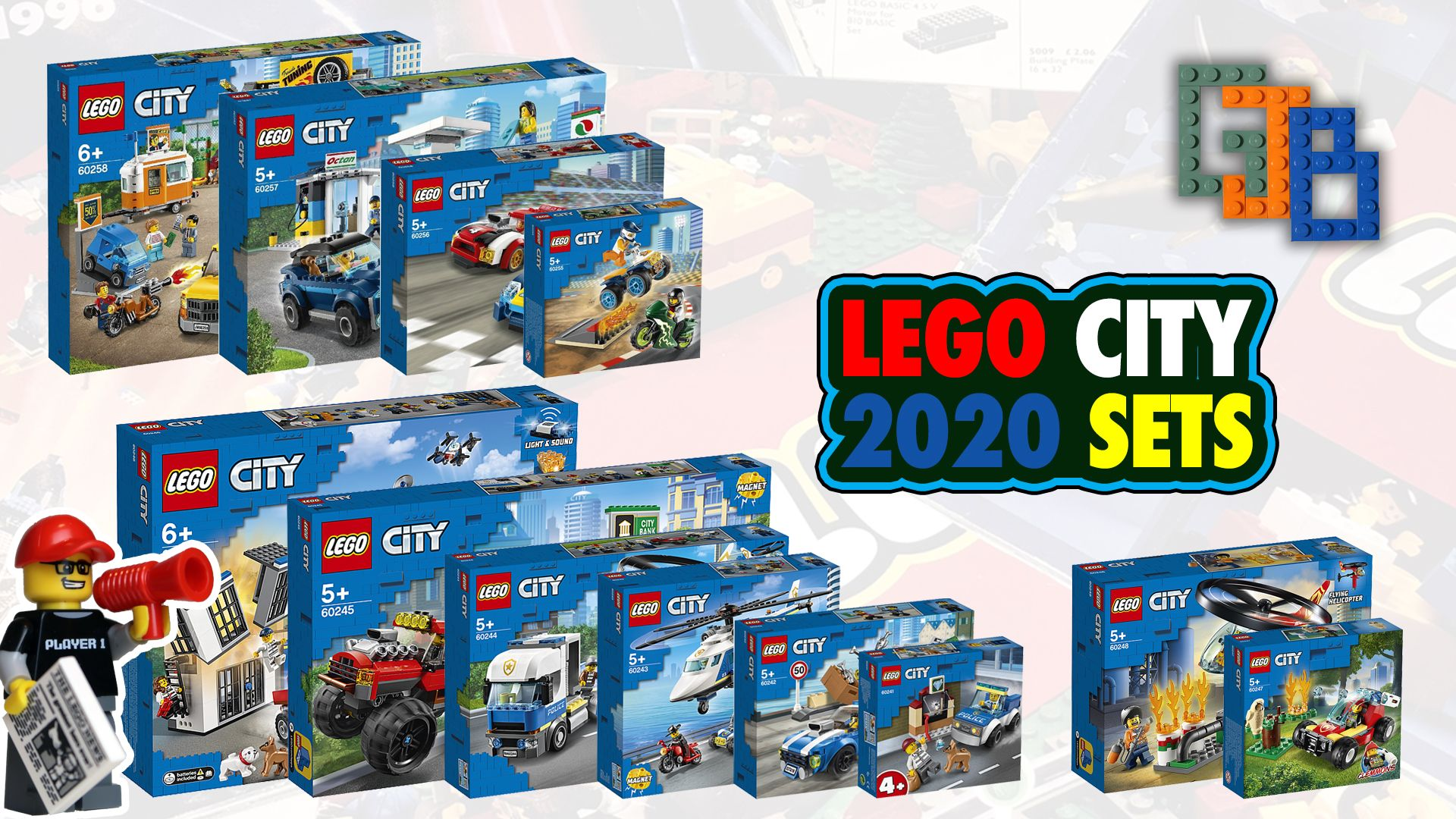 New Lego City 2020 Sets My Thoughts On All The Sets So Far In 2020 Lego City Lego News Lego