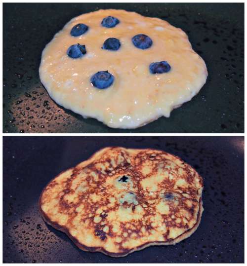 Banana based pancake recipe. No flour, only pure ingredients.