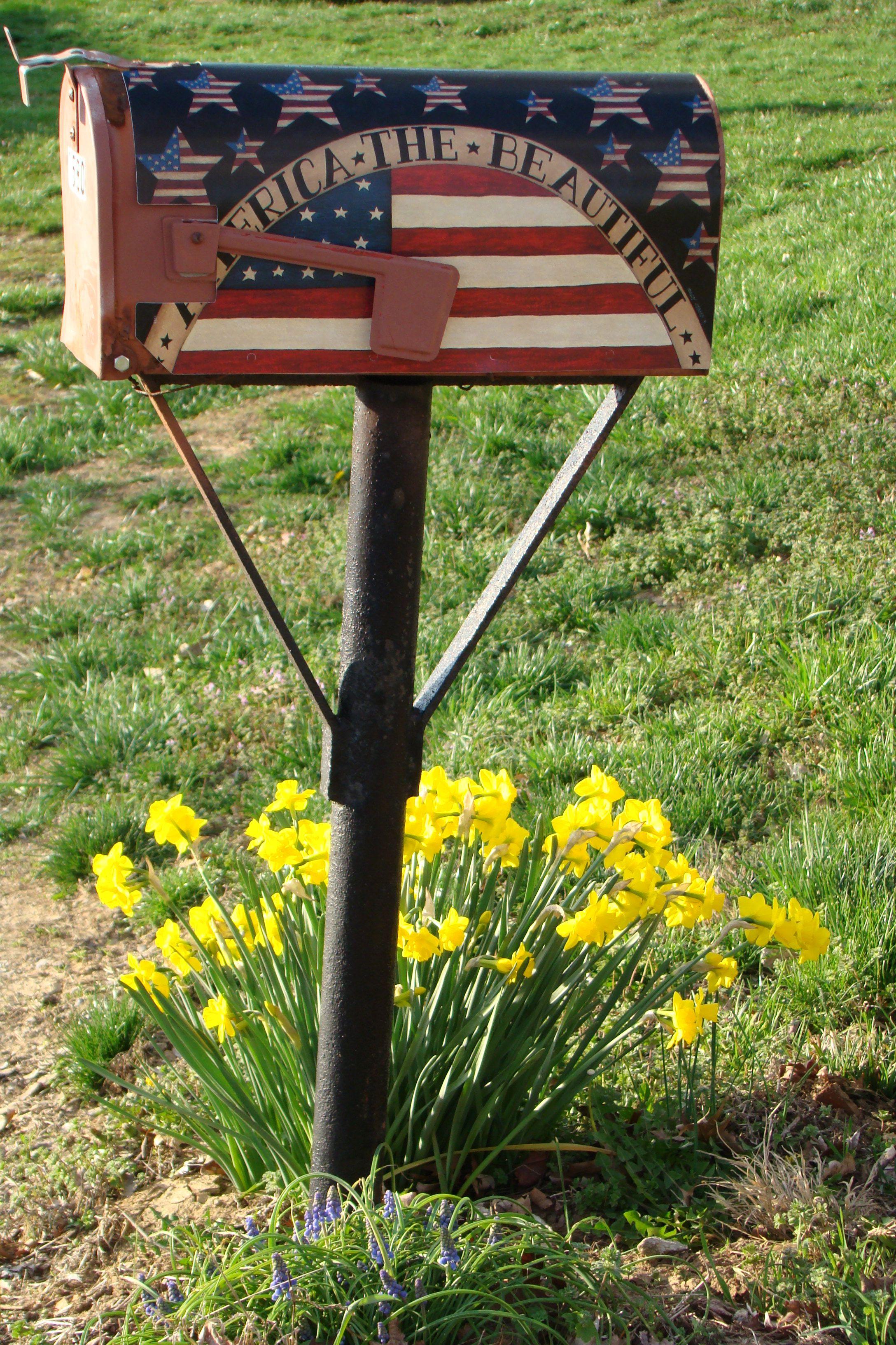 Americana Mailbox Cassettiere Cose