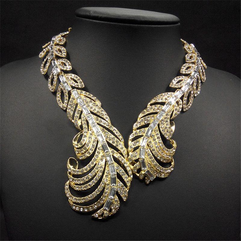Click to buy luxury brand jewelry gold imitation rhinestone click to buy luxury brand jewelry gold imitation rhinestone fashion chunky statement aloadofball Gallery