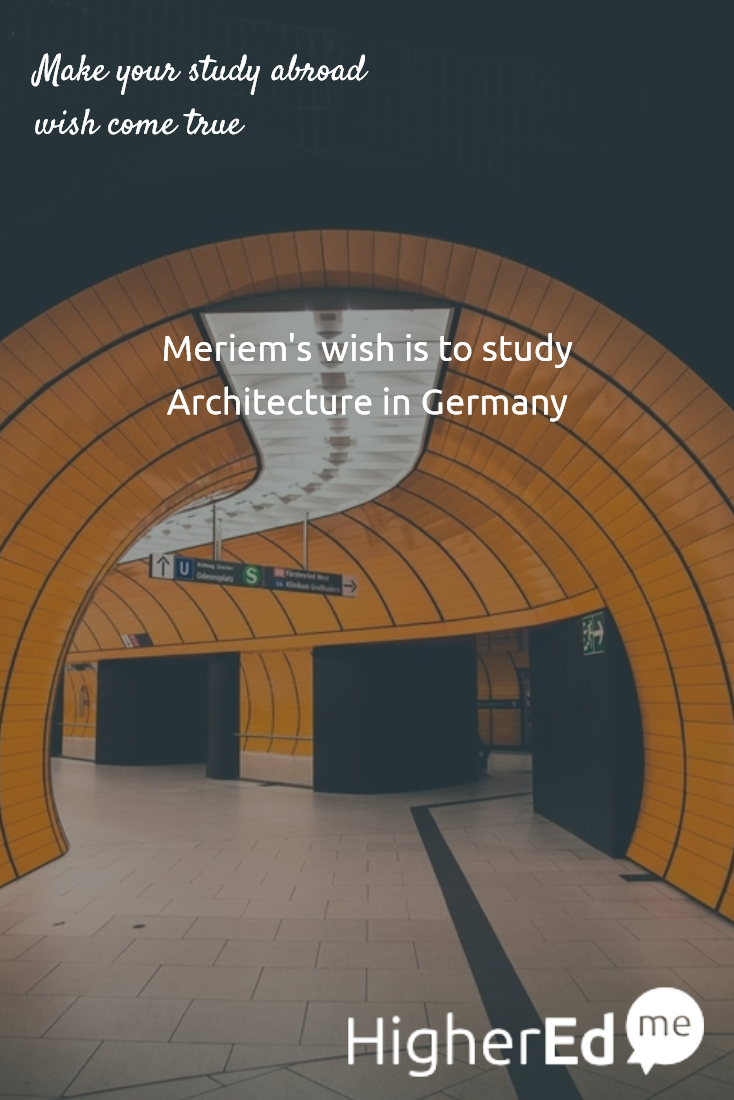 i want to study architecture