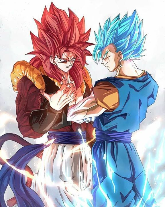 Ssj4 Gogeta And Ssjblue Vigeto Visit Now For 3d Dragon Ball Z