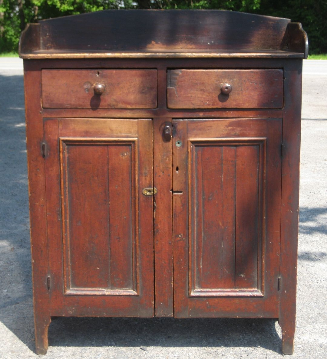 19th century Pennsylvania jelly cupboard Jelly cupboard