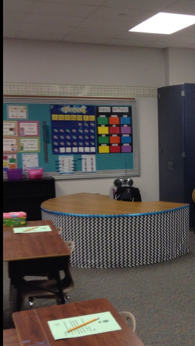 Guided reading table redone!