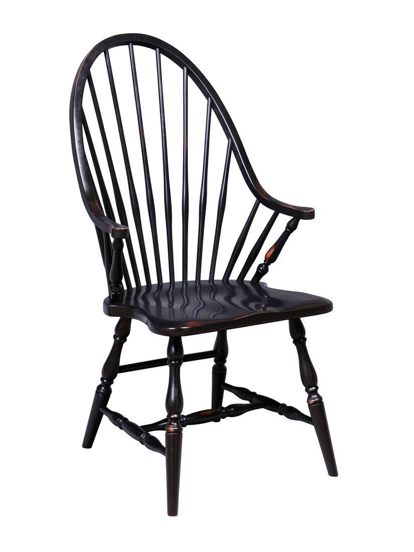 Estate windsor arm chair custom furniture chair