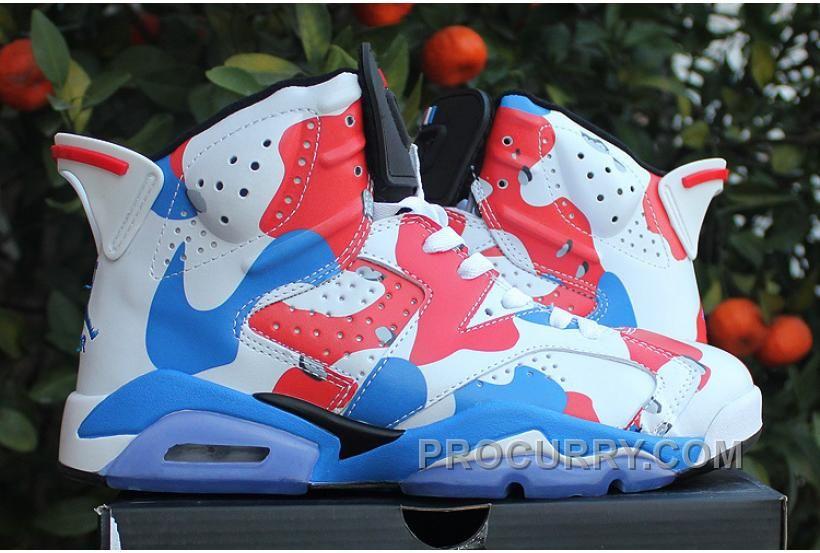 Air Jordans 6 American Heroes Custom For Sale Online Discount