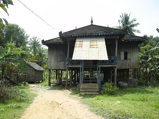 Rural Khmer Houses Are A Traditional House Types Of The