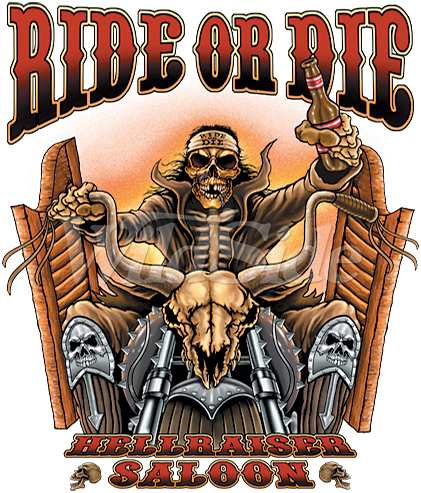 Ride Or Die Saloon Biker 12876 The Wildside With Images