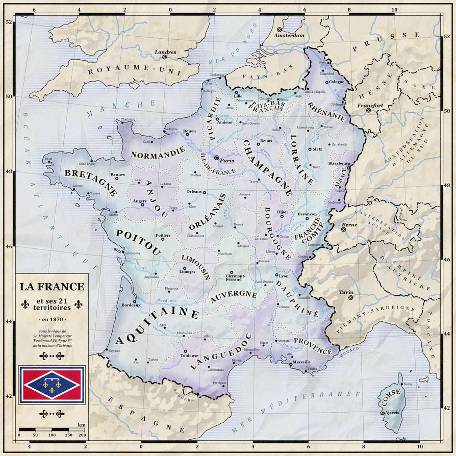 What France Should Have Been By Zalringda Map Imaginary Maps Fantasy Map