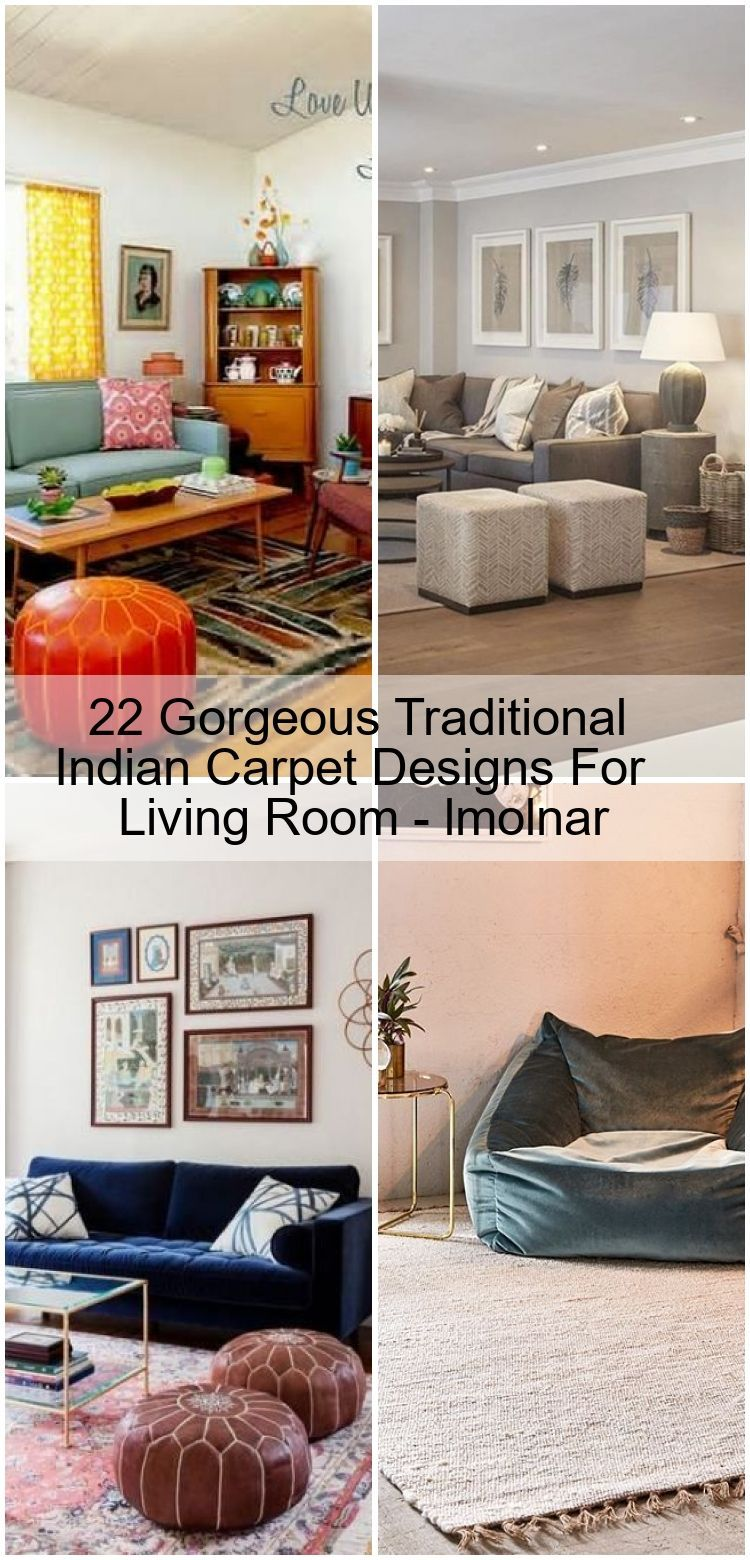 22 Gorgeous Traditional Indian Carpet Designs For Living