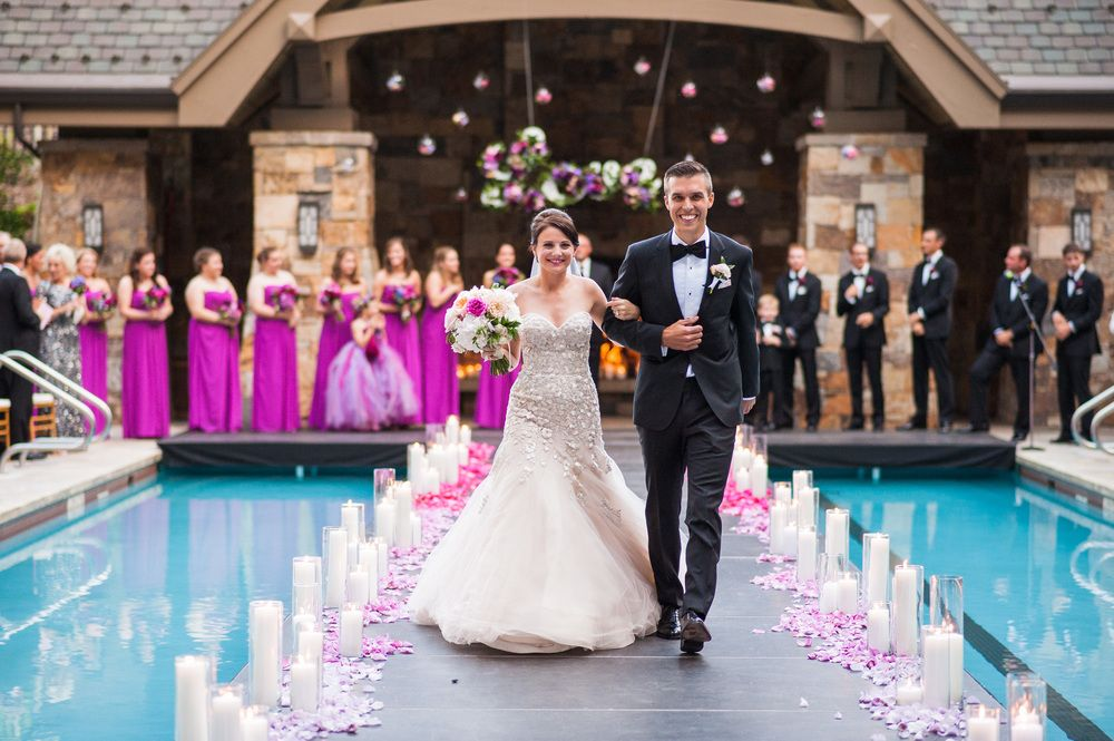 Jessica Dereks Extraordinary Wedding At The Four Seasons Vail
