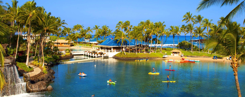 Lagoon & Beach at Hilton Waikoloa Village | Big Island Hotel & Resort