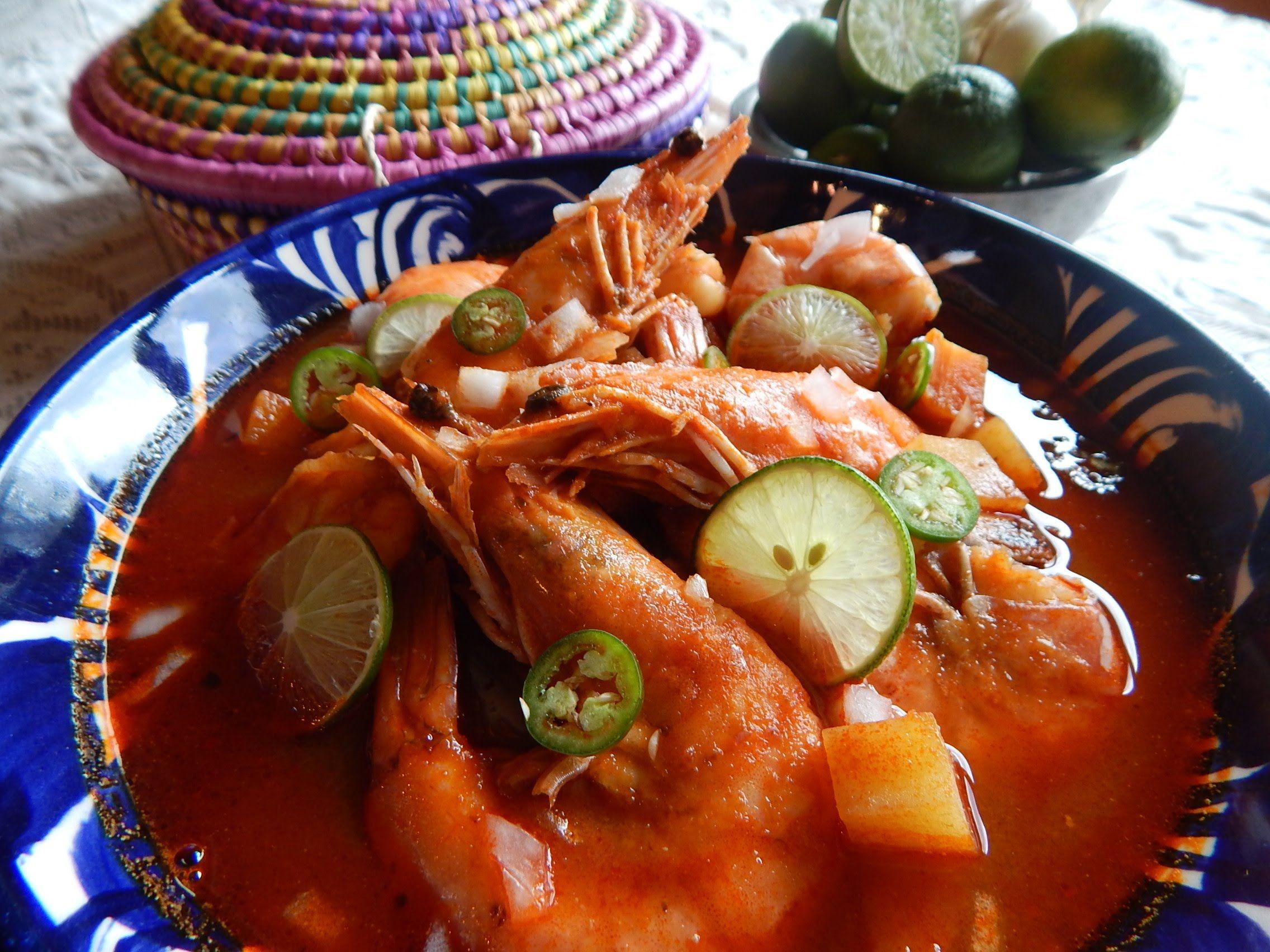 Caldo De Camaron Caldo De Camaron Tradicional De Jauja Cocina