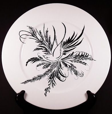 Painted Plate Painted Plates Glass Painting Stained Glass Paint