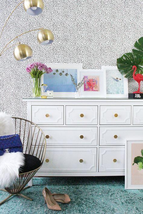 Kinderzimmer ikea hemnes  Ikea Hemnes 8 drawer dresser DIY hack | home | Pinterest | HEMNES ...