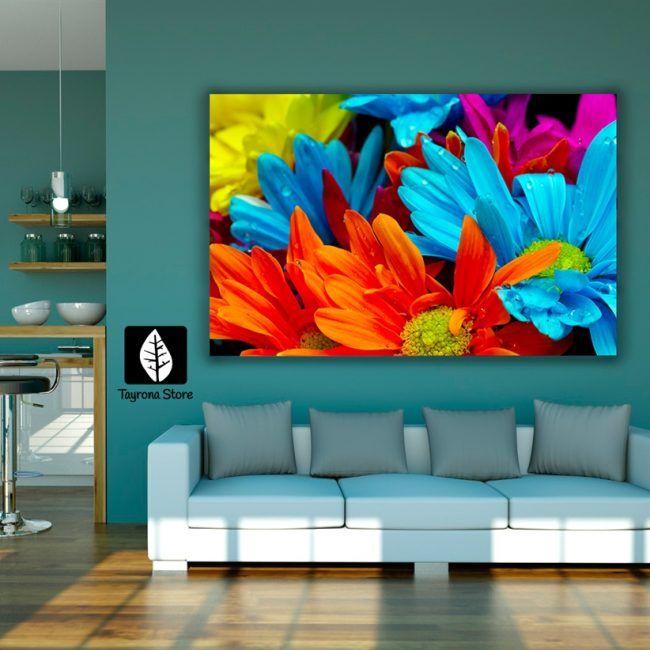 Cuadro decorativo tayrona store para sala o alcoba flores - Cuadros decorativos para cocina abstractos modernos ...
