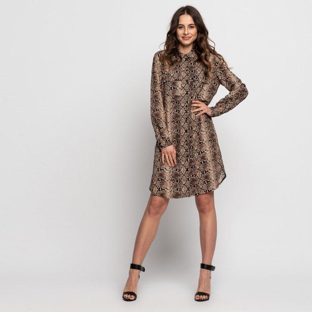 Zwierzece Wzory Trendem Sezonu Bialcon Bialcon Brand Toptrend Zwierzecewzory Polskiemarki Polskieprodukty Lovepola Fashion Dresses Dresses For Work