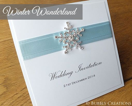 We took an order for our Winter Wonderland design and the customer
