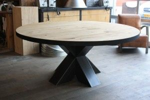 Ronde Eettafel Stalen Frame.Ronde Tafels Steel Creations Dining Room Table Dining Suites