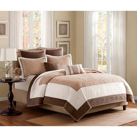 Longmont 7 Piece Quilted Coverlet Set