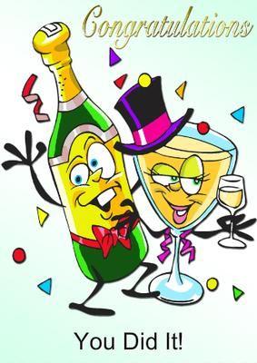 Image result for congratulations cartoon