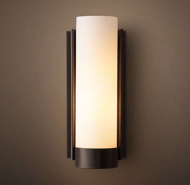 Powell Sconce - This oil rubbed bronze finish would work with the ...