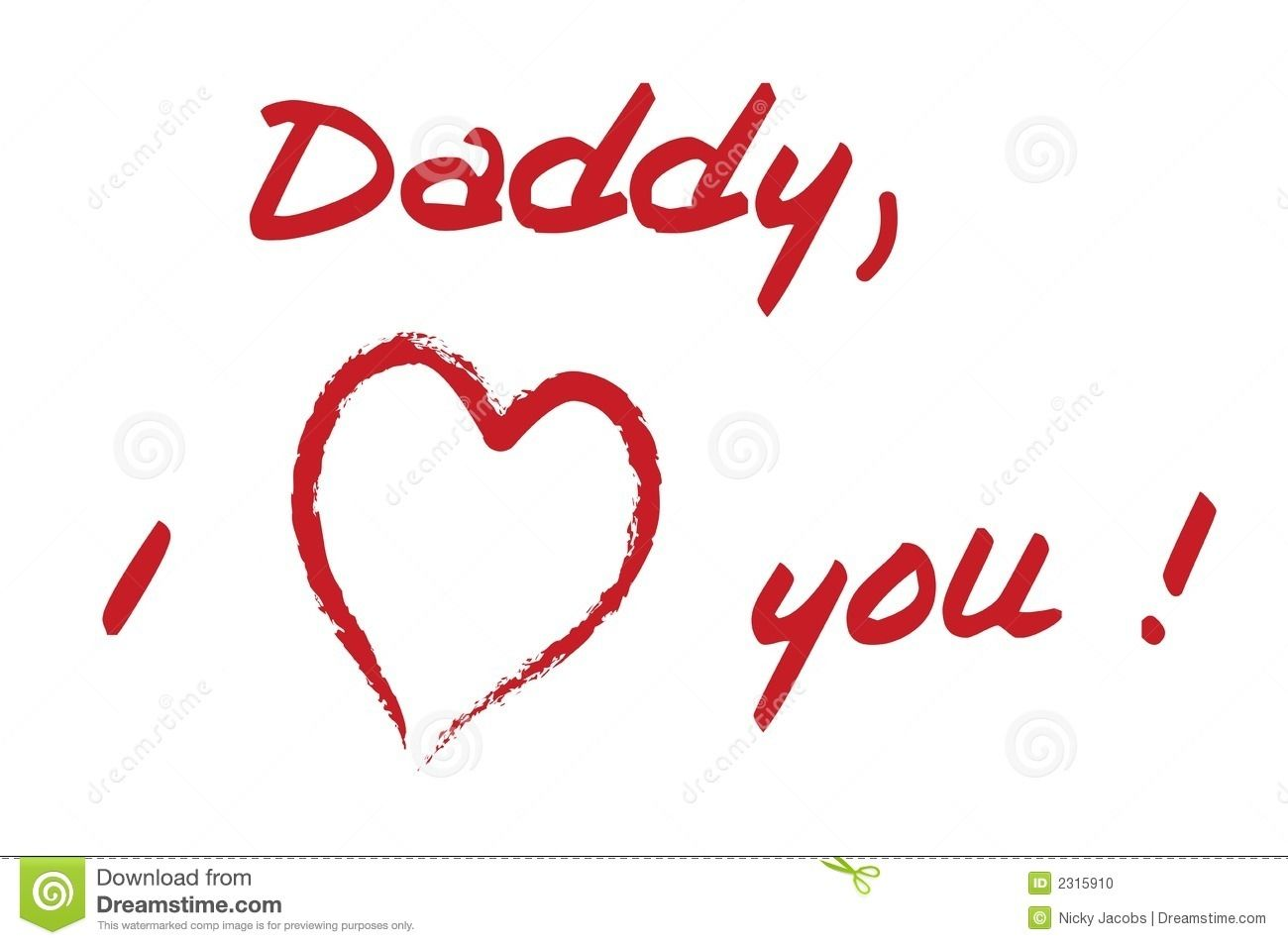 Images Of Love U Dad Hd I Love Mom Dad Royalty Free Stock